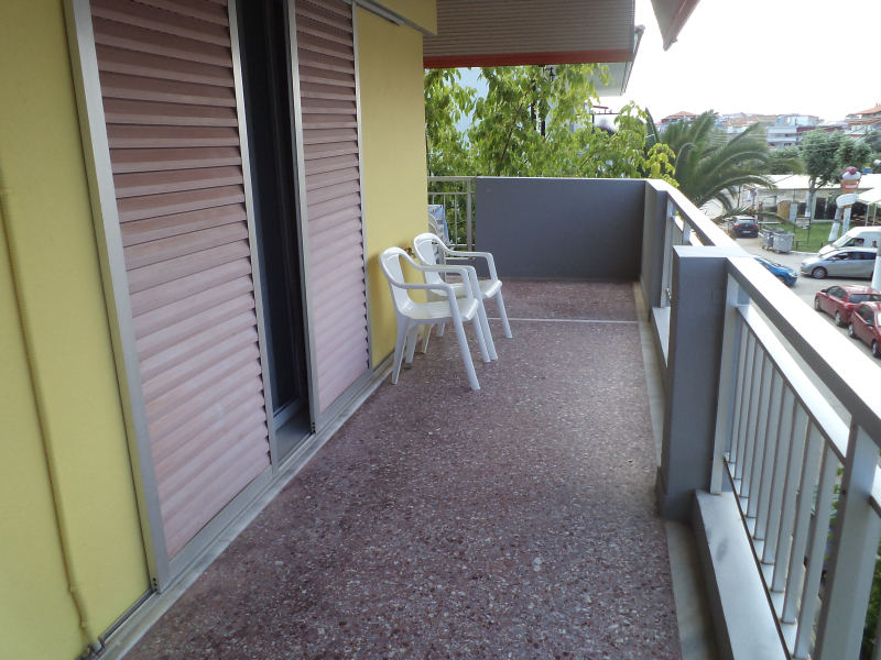 Paralia Dionisiou Beach, rooms, balkony